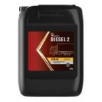 Масло Роснефть Diesel 2 15W40 CH-4/SJ (20л) п/с